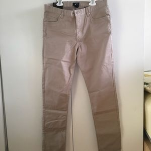 Brand New H&M Khaki Slim Fit Pants